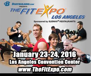 Expo «Estar en forma» en el Centro de Convenciones de L.A.