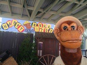 Santa Ana Zoo celebró sus 64 años: ¡¡Felicidades Santa Ana Zoo!!