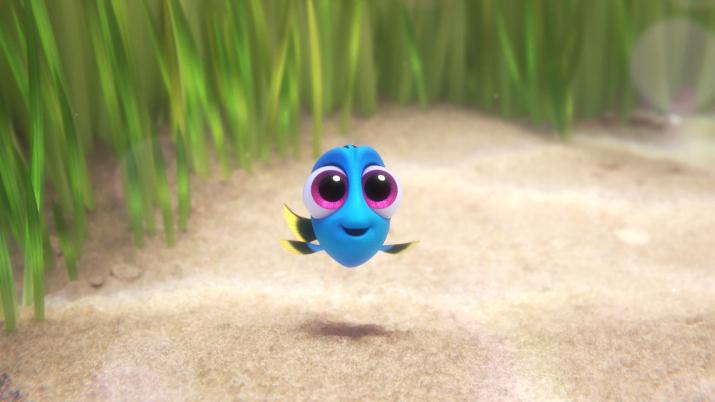 El Bebé Dory es una de las estrellas secretas de «Finding Dory»
