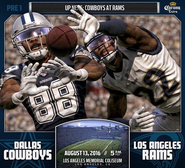 ¡Los Ángeles Rams Ya Están En Casa!