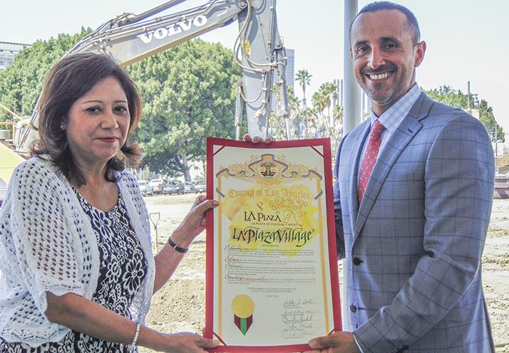 LA Plaza Village renueva el Viejo Pueblo de Los Angeles