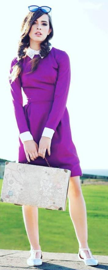 Lucía Vives, hija de Carlos Vives, debuta como modelo