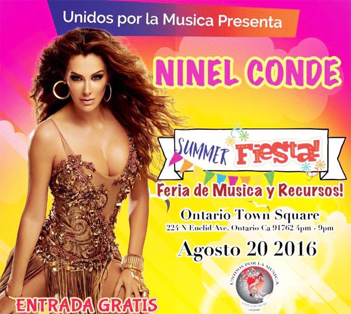 Ninel Conde 'El Bombón Asesino' viene al Sur de California: Summer Fest «Unidos por la Música»